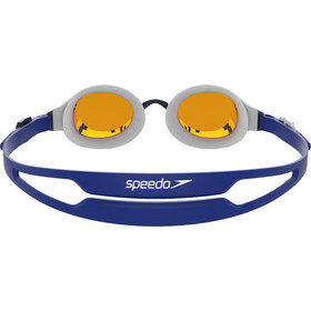 speedo Hydropure Mirror Goggles white/gold/blue